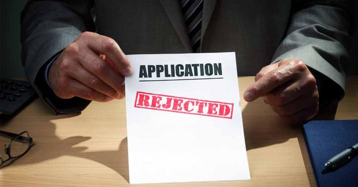 How to overcome job applications rejection.